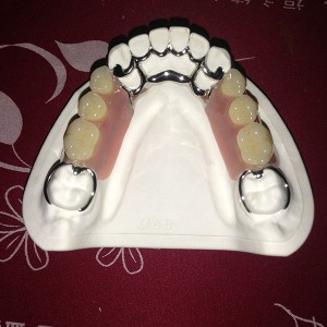 Iron Sheet Dental Bib -