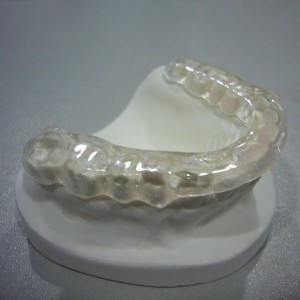 Aluminum Stucco Embossed Sheet Dental Teeth Orthodontic Trainer -